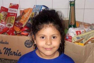 No quiso regalos, en su cumpleaños recolectó alimentos y los donó a un comedor