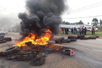 Concordia: luego de los despidos en Egger, los damnificados bloquearon el acceso a la planta