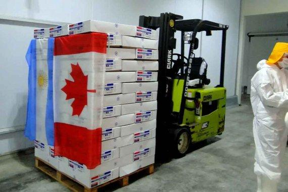Primera vez: Empresa entrerriana exportó alitas de pollo a Canadá
