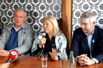 De visita por La Histórica, Elisa Carrió hizo un pedido especial a los entrerrianos