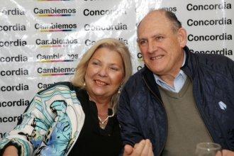 """Niez, acompañado por Carrió, cargó contra """"los Cresto, los Busti y los Urribarri"""""""