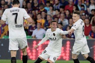 Messi, sin doblete: El Valencia le ganó la Copa del Rey al Barcelona