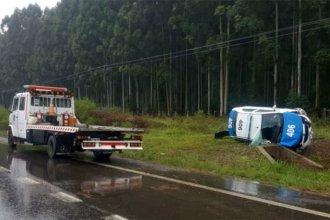 A una semana del vuelco en la Autovía, murió uno de los policías que viajaban desde Colón