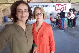 """""""Que todos los funcionarios políticos ganen lo mismo que una directora de escuela"""", desafió Burgos"""