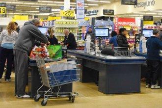 Cayeron las ventas en supermercados, mayoristas y shoppings