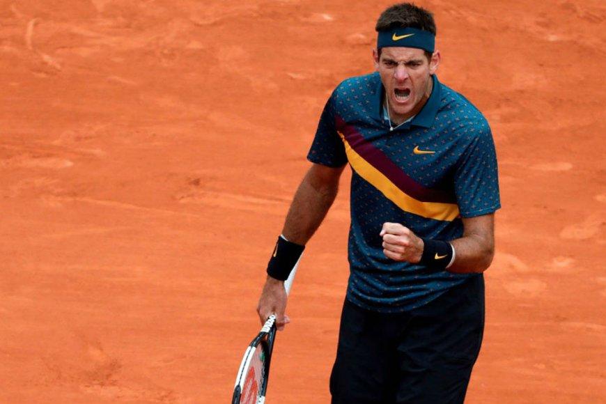 Ganó Delpo en el inicio del torneo.