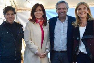 Confirmaron la fórmula K que enfrentará a Vidal por la provincia de Buenos Aires