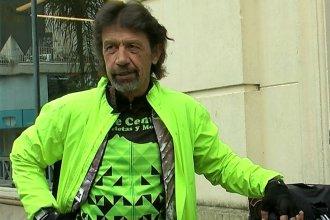En su vuelta al mundo en bicicleta, pasó por Entre Ríos para dejar un mensaje contra el maltrato animal