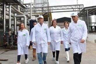 """""""Entre Ríos necesita producir mucha más leche"""", afirmó Bordet en su visita a Tonutti"""