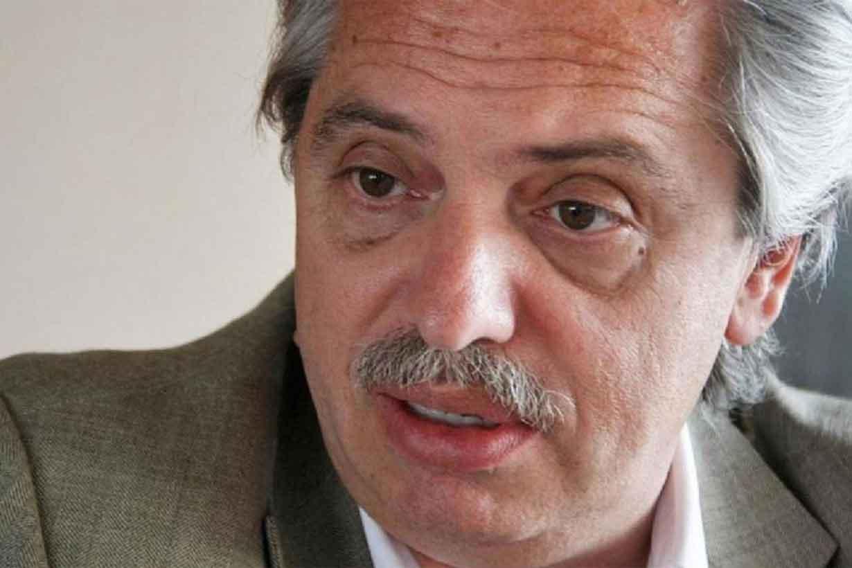 Alberto Fernández, el más votado en Uruguay.