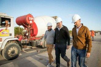Dietrich recorrió obras en Entre Ríos: Monfort le pidió reconvertir Ruta 135 y reparar la 14 en Ubajay