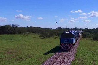 Belgrano Cargas: Macri posteó imágenes de un tren de 100 vagones