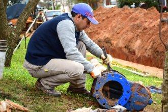 Día clave para el Acueducto Roca: $12 millones invertidos para inyectar 800 mil litros de agua potable por hora