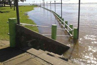 El Río Uruguay superó el nivel de alerta en Paso de los Libres