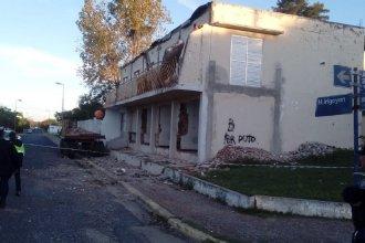 Federación: se derrumbó un edificio donde funcionaba un hotel y dos personas resultaron heridas