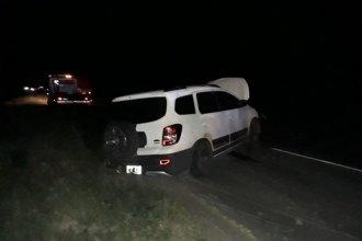 Perdió el control de su auto e impactó contra el guardarrail tras el reventón de un neumático