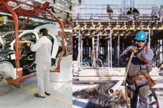 La industria y la construcción, nuevamente con índices negativos según el INDEC