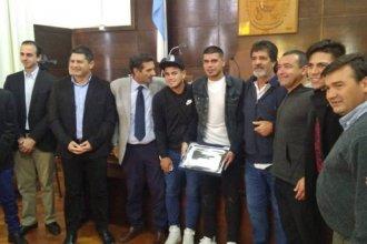 Gustavo Bou fue reconocido por el Concejo Deliberante de Concordia