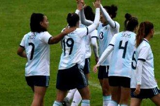 Con Oviedo en la cancha, Argentina ganó su último juego en la previa al Mundial