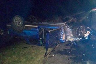 Cambió de carril y provocó un choque con otros dos autos: hay cinco heridos