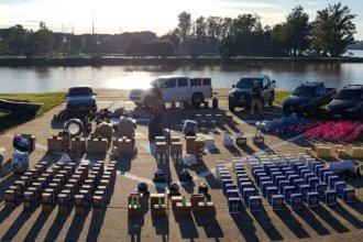 """Desarticulan una red """"muy compleja"""" dedicada al contrabando en la costa del Uruguay"""