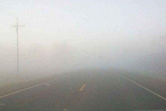 Por bancos de niebla, piden extrema precaución al circular por las rutas 12 y 14