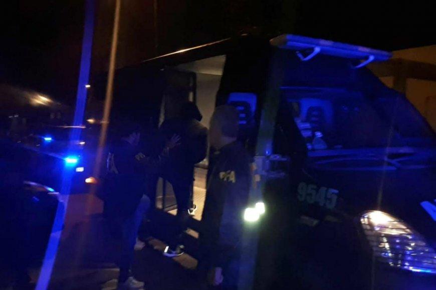 Ayer los detenidos fueron llevados ante Seró.