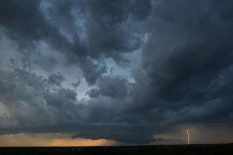 Rige un alerta por tormentas severas para Entre Ríos