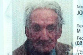 Tiene 88 años, se fue de su casa el lunes y la Policía lo busca intensamente