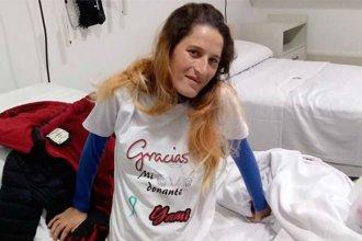 """Tras el trasplante bipulmonar, Yamila recibió el alta médica y agradeció a su """"ángel donante"""""""