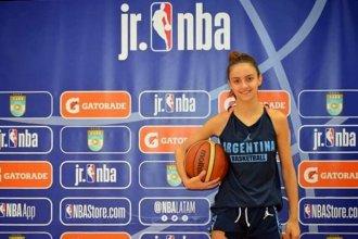 Joven entrerriana, seleccionada entre las mejores de Sudamérica para jugar el Mundial Junior NBA