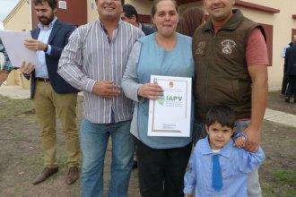 Más de 1000 familias entrerrianas cancelaron sus cuotas de viviendas sociales anticipadamente