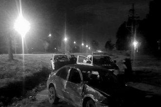 Destrozó su auto en un violento vuelco en la Autovía Artigas