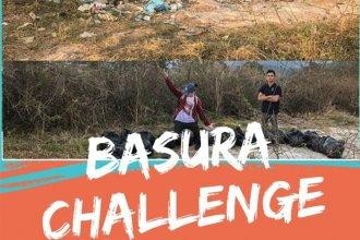 #BasuraChallenge: Estudiantes entrerrianos se suman al desafío y limpian basurales clandestinos