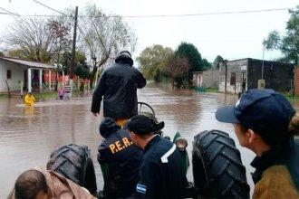 Confirman que son más de 160 los entrerrianos evacuados tras el temporal