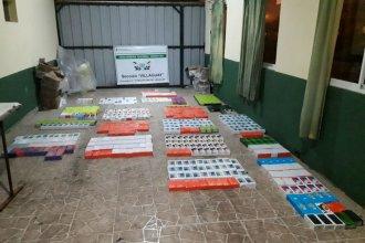Millonario hallazgo en Entre Ríos: llevaba 640 celulares y tablets de contrabando