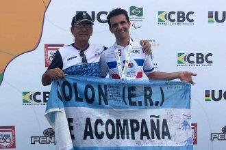 Rodrigo ganó también en ruta y fue campeón de su categoría en Brasil