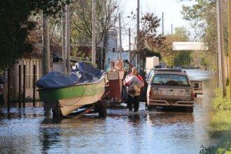 En 5 horas, el río Gualeguaychú trepó a los 4,52 metros y aumentó el número de evacuados