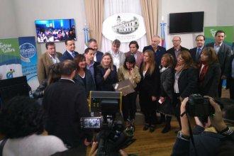 En presencia de variados actores políticos, postularon a Entre Ríos como sede del Termatalia 2020