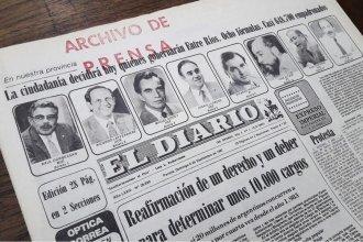 Está disponible la web que permite visualizar la historia de los procesos electorales de Entre Ríos