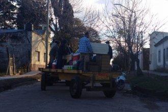 Tras tareas de limpieza y desinfección, los afectados por la inundación regresan a sus hogares