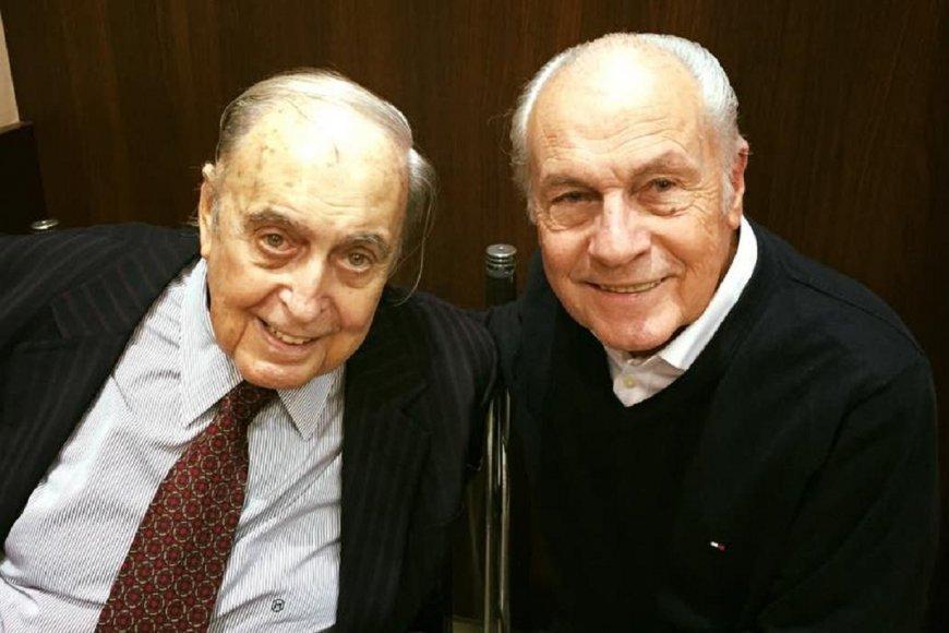 Edgardo Mesa y su hermano Juan Carlos