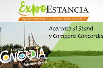 Antes de las vacaciones de invierno, invitan a compartir Concordia en la Expo Estancia