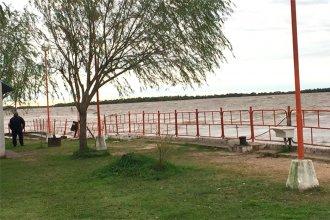 Lo que el río se llevó: camping municipal entrerriano amaneció sin muelle este martes