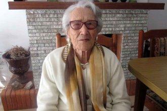 """Ser """"rústica"""" y consumir """"una hoja de aloe por día"""", los consejos de Siomara para vivir 100 años"""