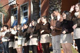 La interpretación del Himno que conmovió durante el homenaje a Güemes en Concordia
