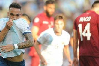 Argentina triunfó con un 2 a 0 ante Venezuela y pasó a semifinales