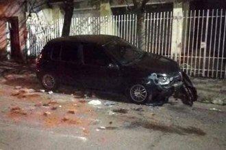 En distintas zonas de Concordia, chocaron autos estacionados y huyeron