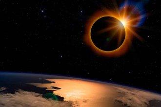Eclipse solar sin lesiones oculares