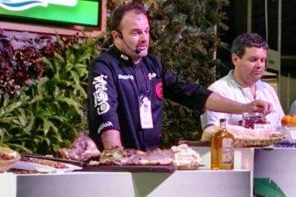Jacinto Echandía, uno de los chefs que llevará lo mejor de la cocina entrerriana a La Rural